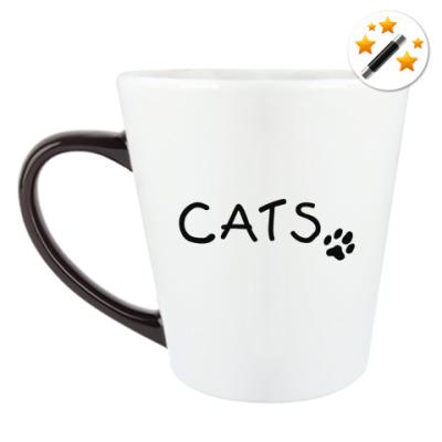 Кружка-хамелеон Cats
