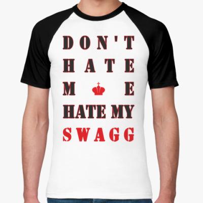 Футболка реглан HATE SWAGG
