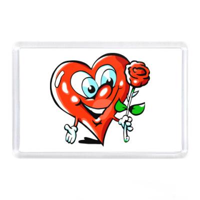 Магнит влюбленное сердце