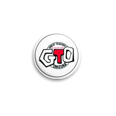 Значок 25мм  GTO