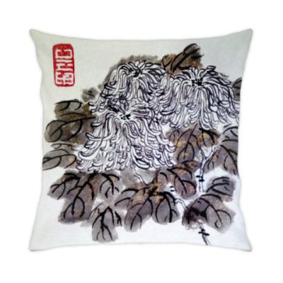 Подушка Хризантемы