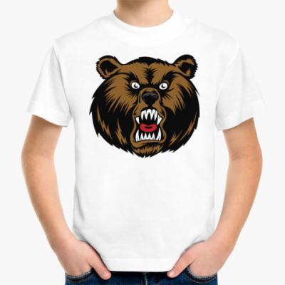 Детская футболка Crazy Bear