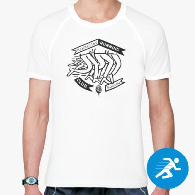 Спортивная футболка Мужская беговая футболка MRC Moscow classic