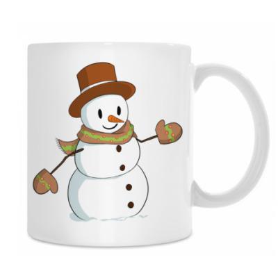 Стильный Снеговик