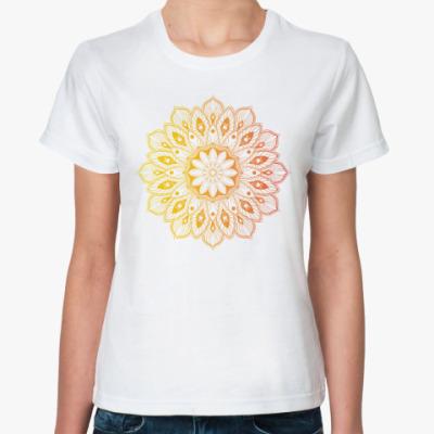 Классическая футболка Узор, паттерн