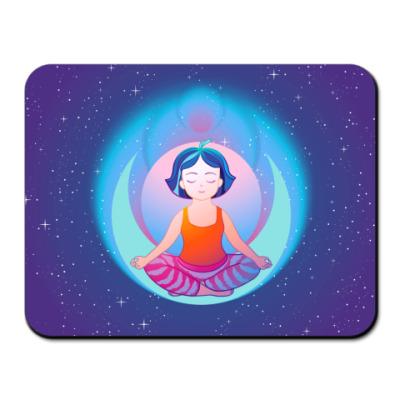 Коврик для мыши Йога и медитация