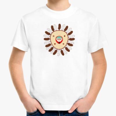 Детская футболка Индейская маска