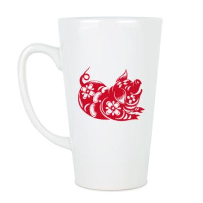 Чашка Латте Символ года