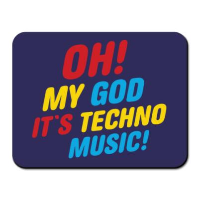 Коврик для мыши techno