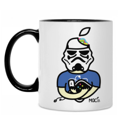Кружка Кружка бел/чёрн Trust me, I'm a Jedi