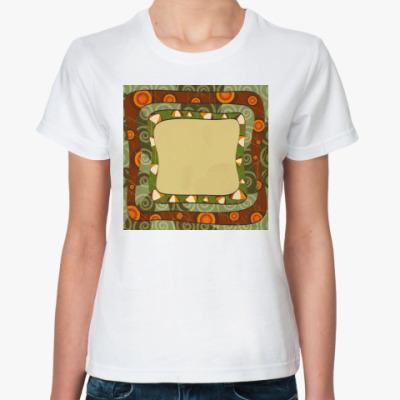 Классическая футболка Этномотивы