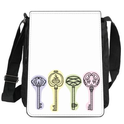 Сумка-планшет Ключи от любой двери