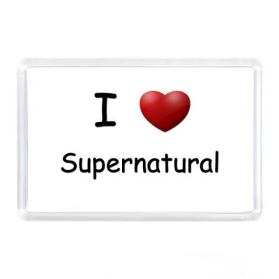 Магнит I Love Supernatural