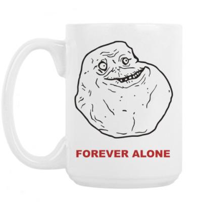 Кружка Forever alone