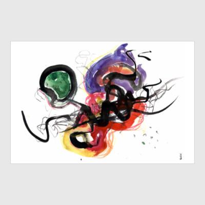 Постер Постер «КЛЕТОЧНЫЕ СВЯЗИ»