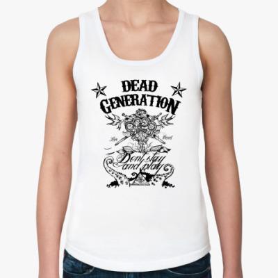 Женская майка Dead Generation