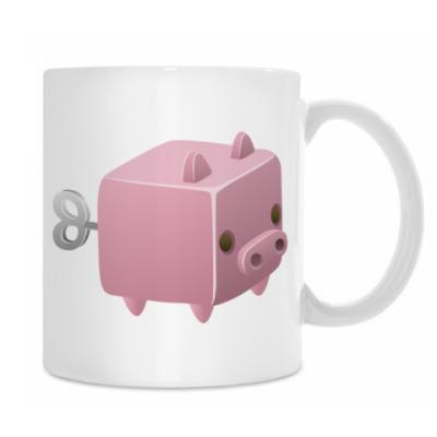 Заводная игрушка: Свинья