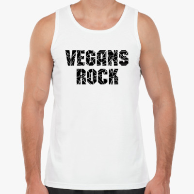 Майка Vegans rock (Веганы рулят)