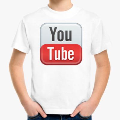 Детская футболка YouTube