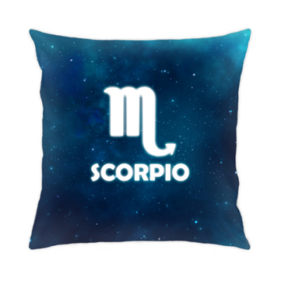 Подушка Знак зодиака. Скорпион