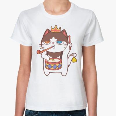 Классическая футболка PARTY KING