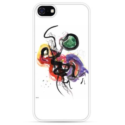 Чехол для iPhone Чехол для iPhone 5 белый «КЛЕТОЧНЫЕ СВЯЗИ»