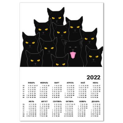 Календарь Котики detected