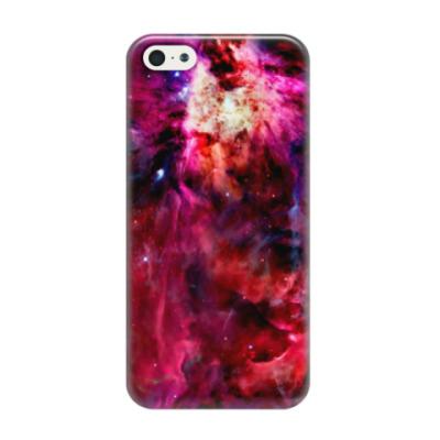 Чехол для iPhone 5/5s Космический взрыв