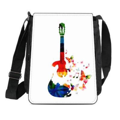 Сумка-планшет Гитара