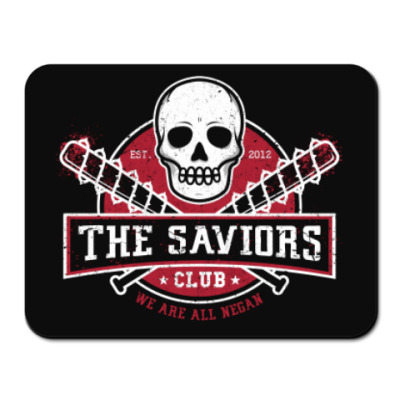Коврик для мыши Walking Dead The Saviors TWD