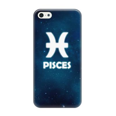 Чехол для iPhone 5/5s Знак зодиака. Рыбы