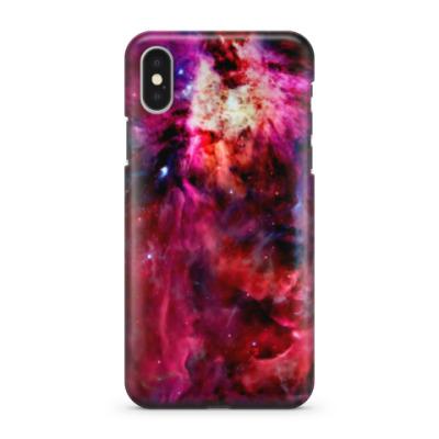 Чехол для iPhone X Космический взрыв