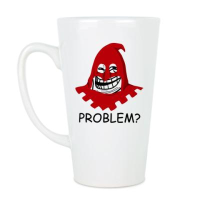 Чашка Латте Trollface-палач