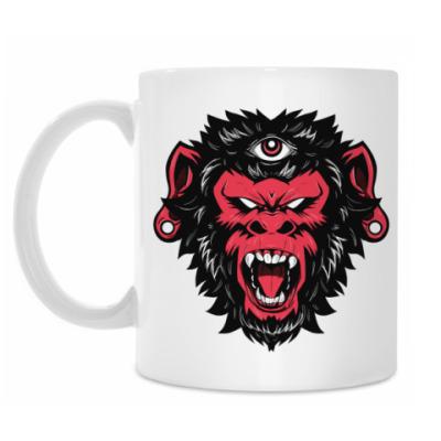 Кружка Crazy Monkey