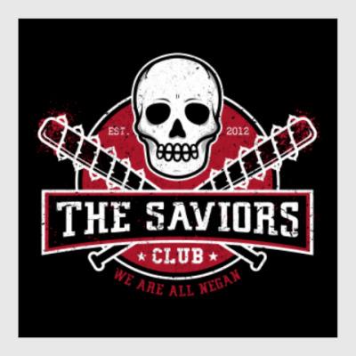 Постер Walking Dead The Saviors TWD