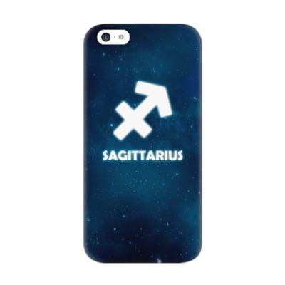 Чехол для iPhone 5c Знак зодиака. Стрелец