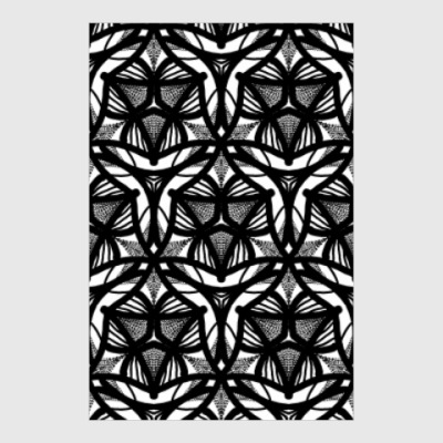 Постер Ornamental pattern