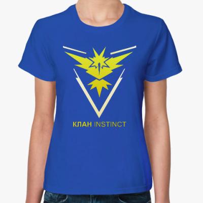 Женская футболка Pokemon Team Клан INSTINCT
