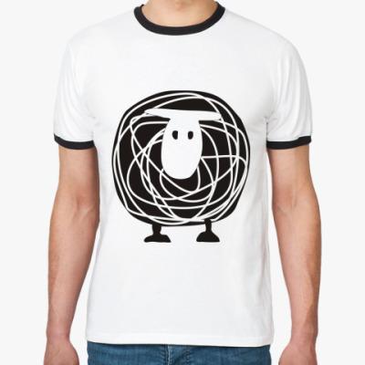 Футболка Ringer-T BLACK SHEEP