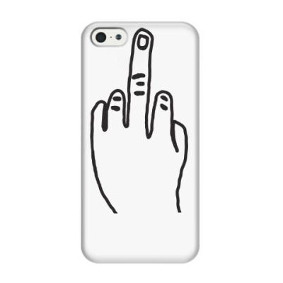 Чехол для iPhone 5/5s Чехол для iPhone 5/5s f**k you(3D)