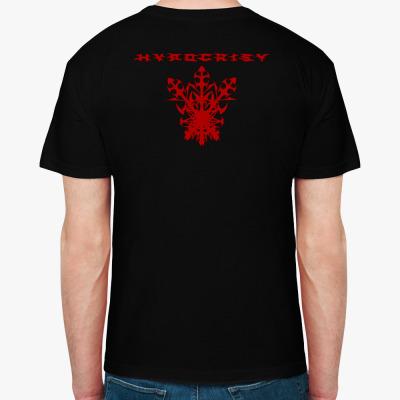 "Hypocrisy ""2000"", Мужская футболка, черная"
