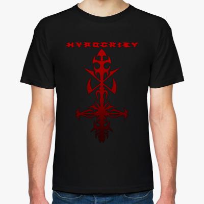 "Футболка Hypocrisy ""2000"", Мужская футболка, черная"