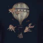 Рыбак на воздушном шаре