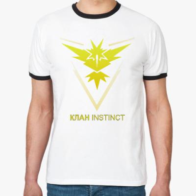 Футболка Ringer-T Pokemon Team Клан INSTINCT