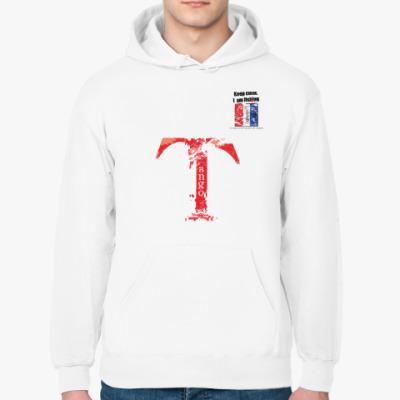 Толстовка худи Сигнальный флаг «T» (Tango / Тангоу)