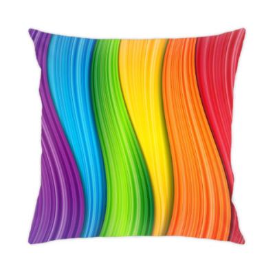 Подушка Rainbow Wave