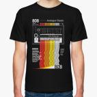Классическая футболка TR-808 Analogue Classix