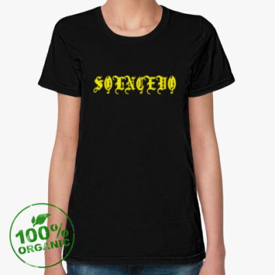 Женская футболка из органик-хлопка Солнцево