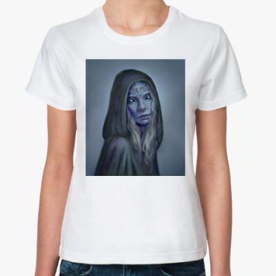 Классическая футболка Игра Престолов: Королева Ночи