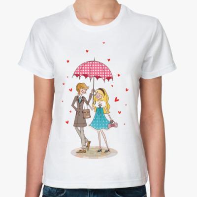 Классическая футболка Влюблённые